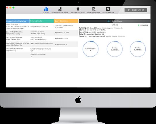 MySQL Optimizer for Mac 1.9 破解版 – MySQL数据库优化工具-爱情守望者